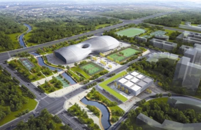 成都新都区香城体育中心力争今年内开工