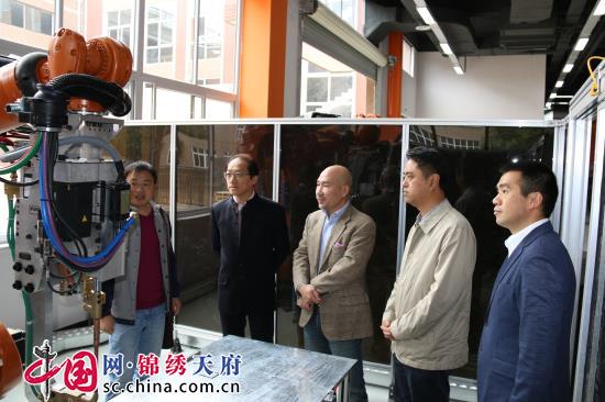 上海乐可吉司实业公司到中德(成都)AHK职教培训中心考察