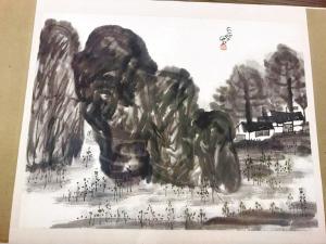 中国的梵高 陈子庄赠画百余幅交川博保管