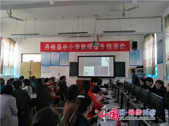 丹棱县双桥镇小学校开展教师基本技能培训活动