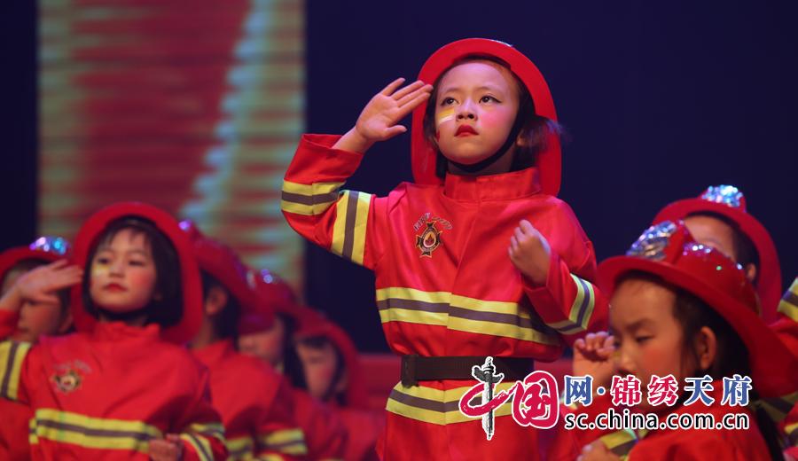 遂宁市幼儿消防主题舞蹈大赛预赛经开站圆满举行