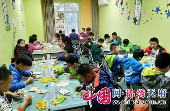 遂宁东方外国语学校(分校)举行DIY手工制作大赛