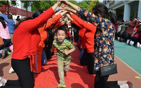 """成都天府新区三星幼儿园举办""""健康运动月""""家园互动活动 6"""