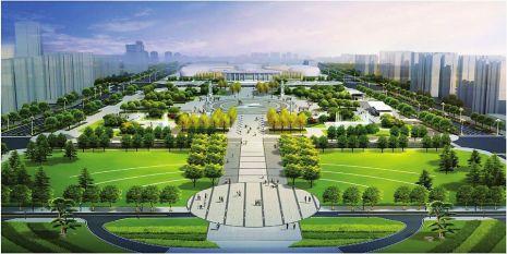 改造中,将保留大剧院广场的银杏树和桂花树,结合大树位置设置树池