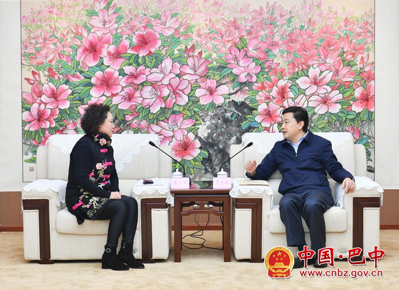 罗增斌会见马来西亚马华公会对华事务委员会副秘书长蒋一萍