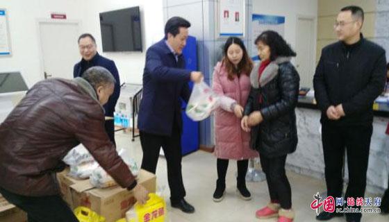 南充市商务和粮食局深入基层积极开展送温暖活动