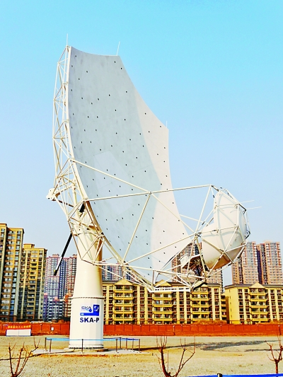 中国走近世界射电天文舞台中央