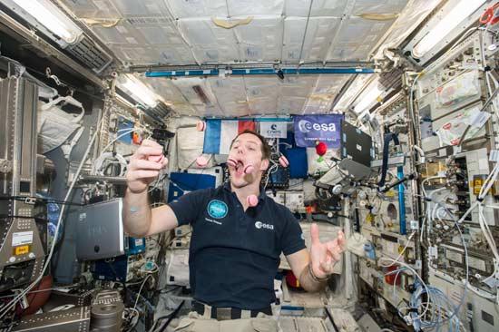 太空中吃吃喝喝那些事儿