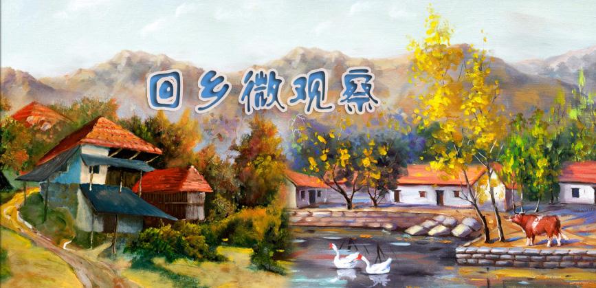 【回乡微观察】(5)故乡的人
