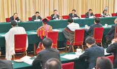 四川代表团举行全体会议 集中审议政府工作报告