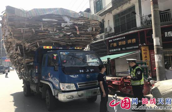 射洪县开展农村地区交通违法行为集中整治统一行动