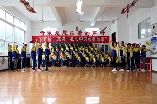 广元国税系统创新形式开展青少年税法普法教育