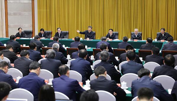习近平在深入推动长江经济带发展座谈会上强调 加强改革创新战略统筹规划引导 以长江经济带发展推动高质量发展