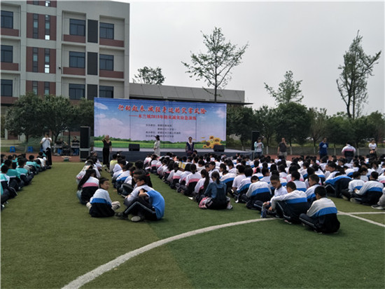 木兰镇2018年防灾减灾应急演练在木兰中学举行