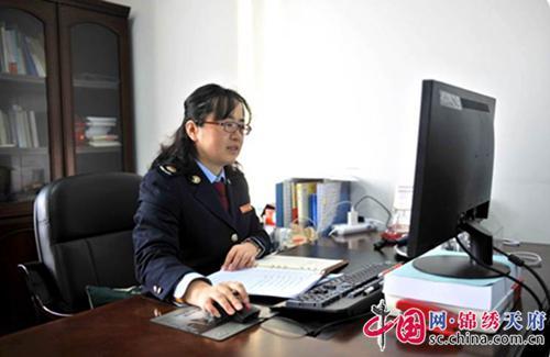 潘启华:用坚强谱写奉献的女税官