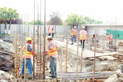 德阳市生活污水处理厂提标改造工程加紧施工