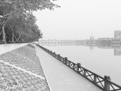 乱河滩变水系公园 美了环境乐了居民