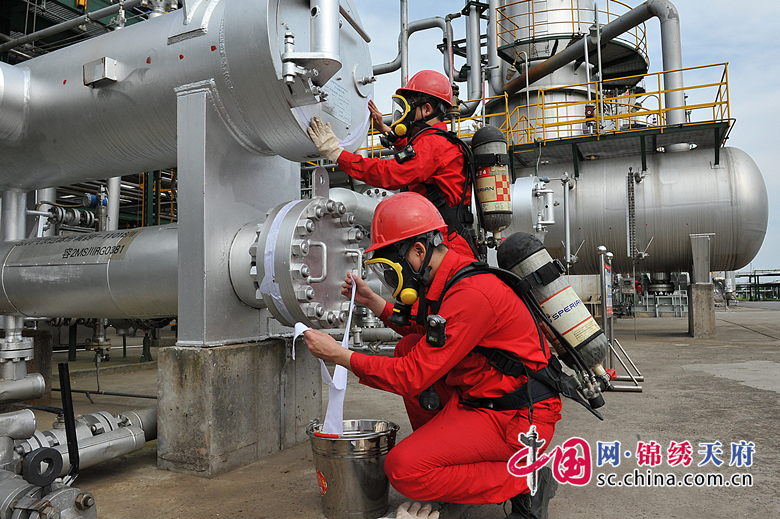 川中油气矿龙岗净化厂强化硫化氢防控工作
