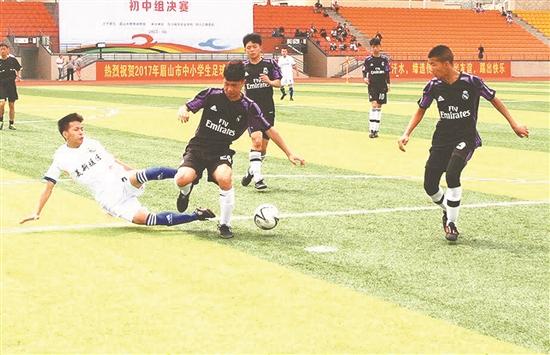 眉山足球联赛规模创建市以来之最 5000多人竞技足球联赛