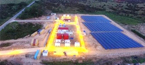 东方电气在安哥拉的首批电站正式投运 全部建成可覆盖9省11市