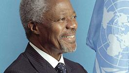 """推动和平发展 世界需要""""安南式""""关切"""