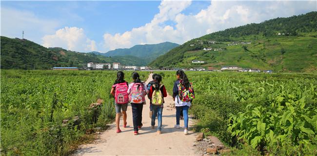 为了上学,这群孩子每周都要走一场半马