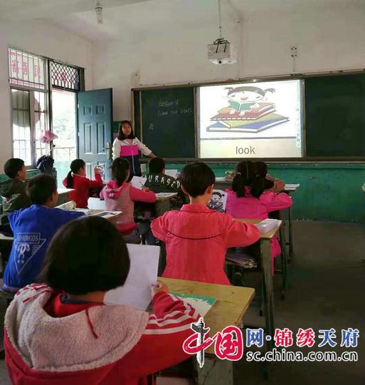 南江县石矿小学开展新进教师精彩亮课活动