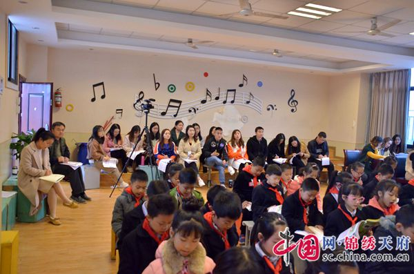 双流区棠湖小学以赛课为抓手 促进青年教师成长