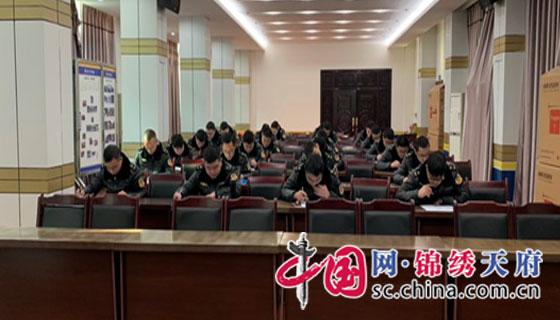 以考促学 以学促用 西充县路政大队开展法纪知识考试
