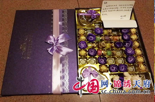 川中油气矿广安作业区给员工生日送特别礼物
