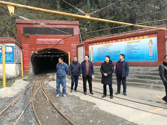 德阳市应急管理局督导检查非煤矿山复产复工工作