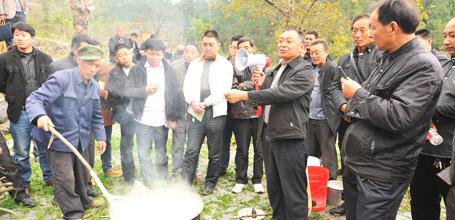 广元市朝天区:重抓基层组织 促进乡村振兴