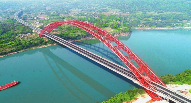 合江长江一桥获詹天佑奖 系中国土木工程建设最高奖