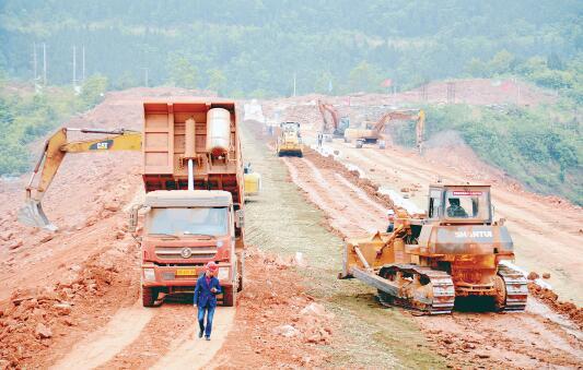 德阳市三座在建水库工程建设稳步推进
