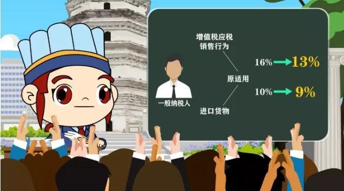 动漫:税务小诸葛来泸州介绍降税降费新政了