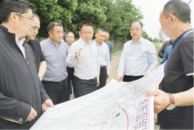 赵世勇调研交通重点项目建设情况时强调 高标准规划建设 着力打造样板工程