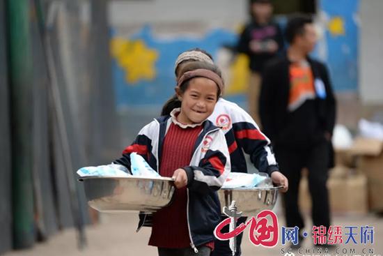 公益助学活动走进凉山州美姑县乡村学校