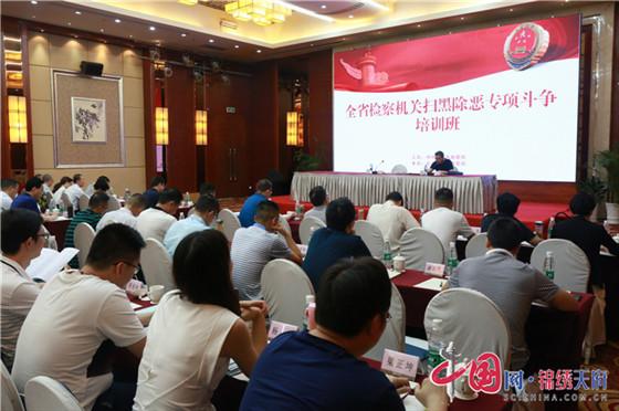 四川检察机关深入推进扫黑除恶专项斗争 已批捕涉黑恶犯罪2722人