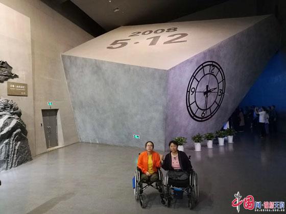 """汶川大地震11年 """"无腿女孩""""黄梅花蝶变重生"""