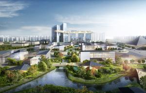 成都市高新区发布瞪羚谷公园社区城市规划