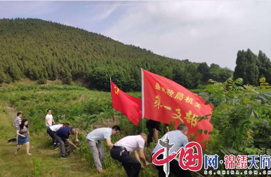 射洪财政局机关党委开展帮扶助耕主题党日活动