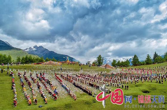 """2019阿壩""""端午祭""""民俗活動舉辦《羌地風情》歌舞晚會"""