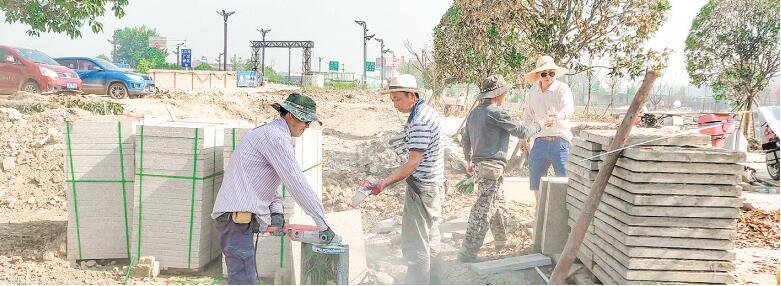 广汉马牧河湿地公园预计本月底建成