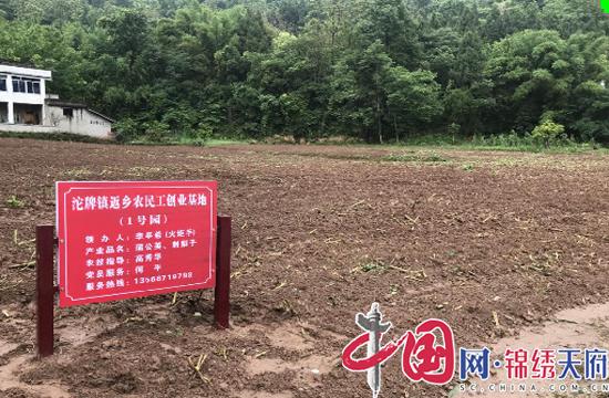 射洪沱牌镇大舜村返乡农民工创业基地示范园区正式开园建设