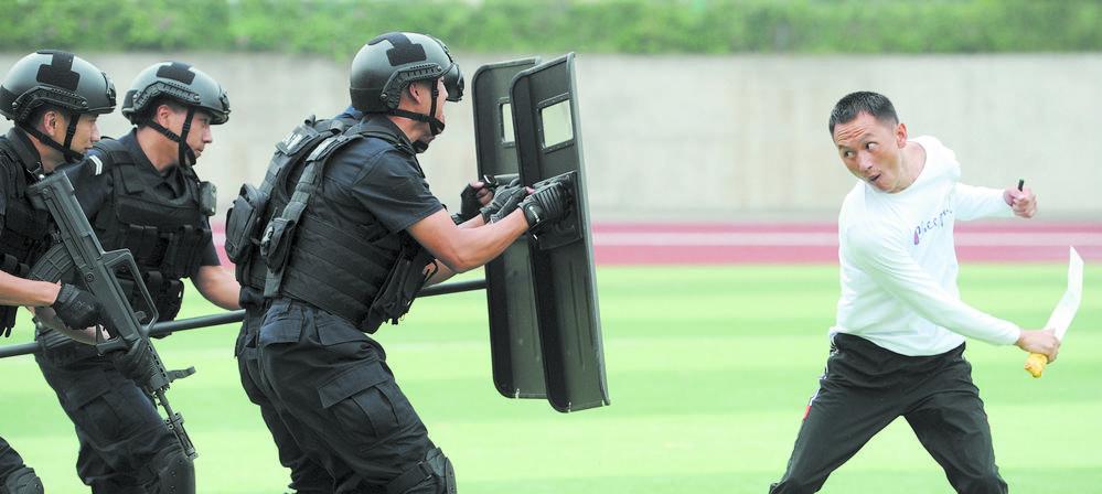 实战演练 护卫平安――成都公安