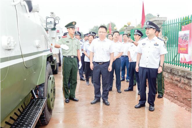 全力以赴防风险保安全 坚决打赢新中国成立70周年大庆安保硬仗