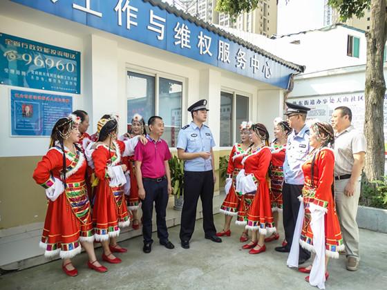 """德阳公安以""""最强民力""""打造警民共建的社会治安防控体系"""