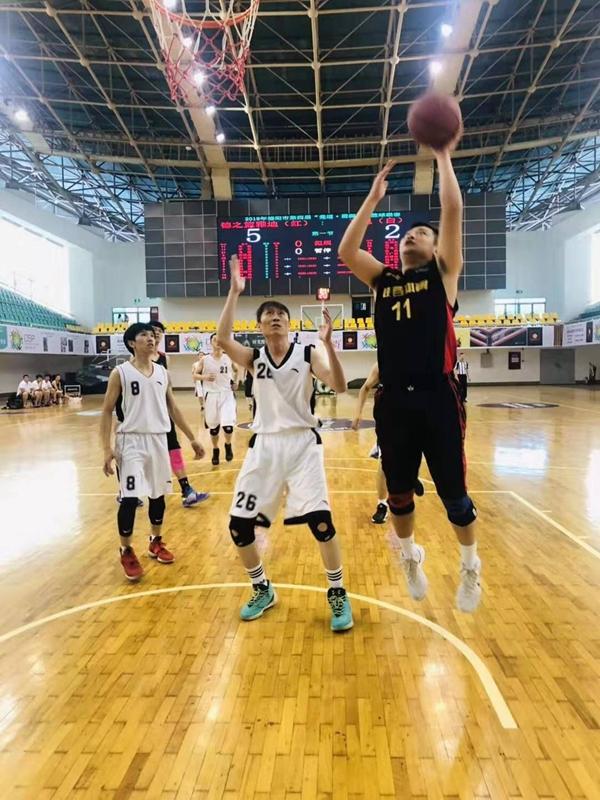 2019年德阳市第四届篮球联赛开幕