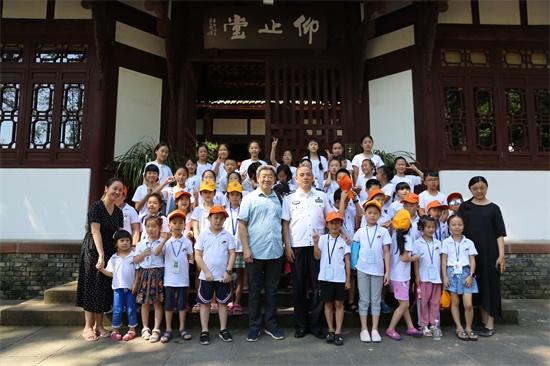 杜甫草堂暑期诗歌训练营特别课堂开讲