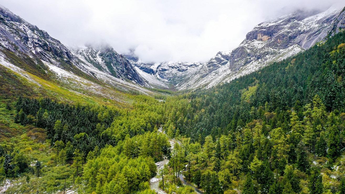 大美新阿坝|航拍理县:促进景区生态环境保护和区域经济协调发展